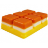 Candy Corn Clamshell Tarts Recipe