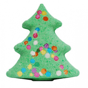 Christmas Tree Bath Bomb Recipe