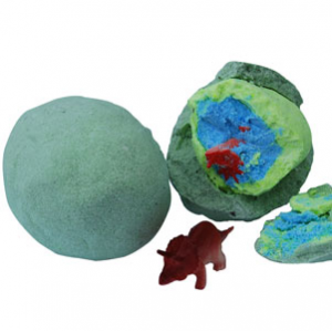 Hatching Dinosaur Egg Bath Bombs Recipe