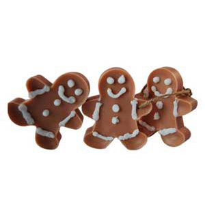 Gingerbread Men Wax Ornaments Recipe