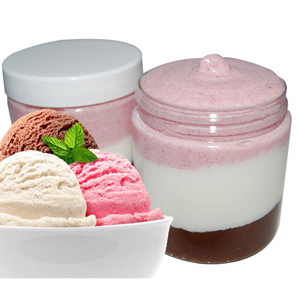 Neapolitan Ice Cream Emulsified Sugar Scrub Recipe