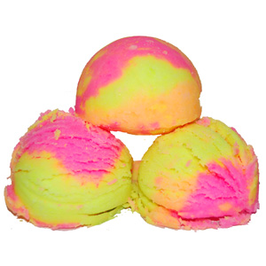 Rainbow Sherbet Bath Fizzies Recipe
