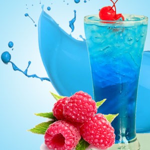 Blue Raspberry Slushie Fragrance Oil