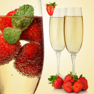 NG Strawberry & Champagne Type Fragrance Oil