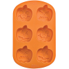 Silicone Soap Mold- 6 Jack O Lanterns