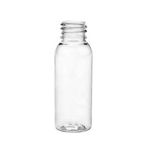 1 oz. Crystal Clear PET Bullet Bottles