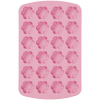 Silicone Soap Mold- 24 Retro Flowers