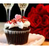 Free Valentine Day Cupcake Wrappers