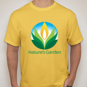 natures garden t shirt - Natures Garden Candles