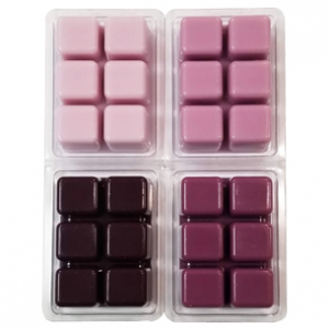 Burgundy Color Blocks Dye