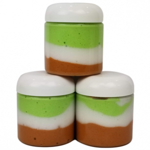 Pearamel Layered Whipped Soap Recipe
