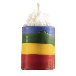Rainbow Votives Recipe