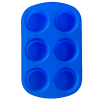 Silicone Soap Mold- 6 Cavity Muffin
