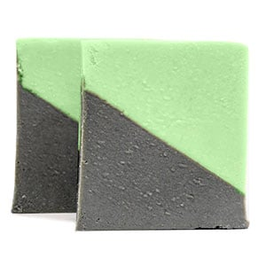 Green Clay and Charcoal Soap Recipe